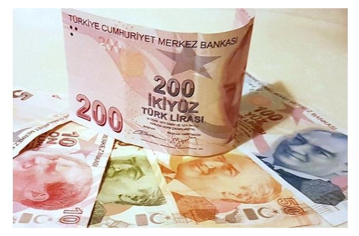 Курс турецкой лиры к манату упал до 6-месячного минимума