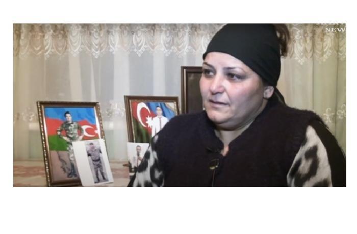 """Мать Шехида: """"Даже птицы в небе плакали по моему сыну"""" - ВИДЕО"""