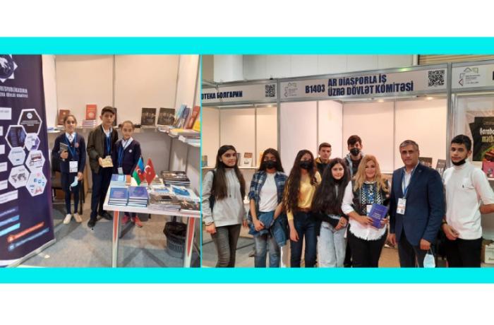 Diasporla İş üzrə Dövlət Komitəsi VII Bakı Beynəlxalq Kitab Sərgi-Yarmarkasında iştirak edib