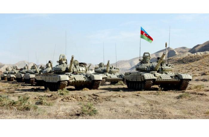 Azərbaycan Ordusunun Laçında təlimləri başlayıb