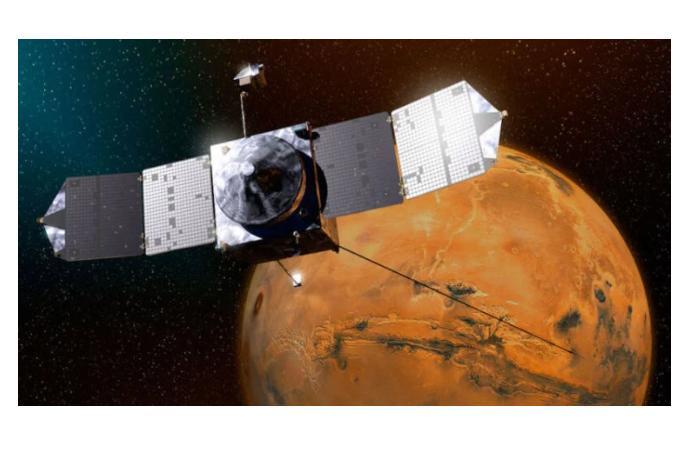 """Китайский космический аппарат """"Тяньвэнь-1"""" успешно достиг орбиты Марса"""