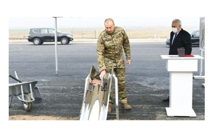 Президент Алиев заложил фундамент новой железнодорожной ветки в Карабахе - Фото