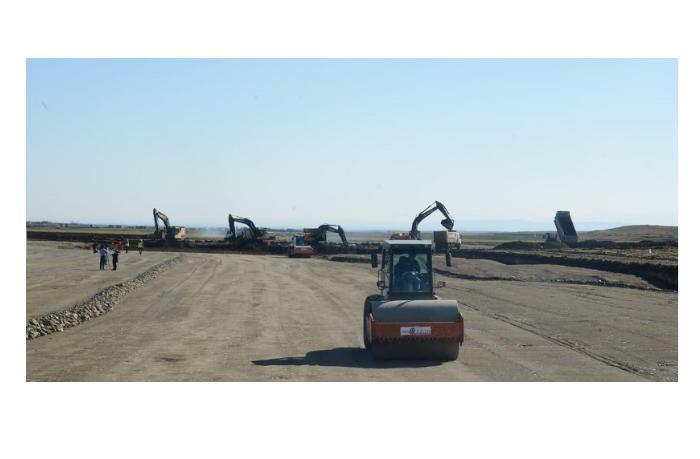 Завершилось разминирование территории строящегося аэропорта в Физули - ВИДЕО