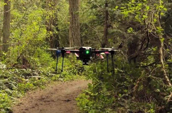 Впервые дрон взлетел без использования GPS