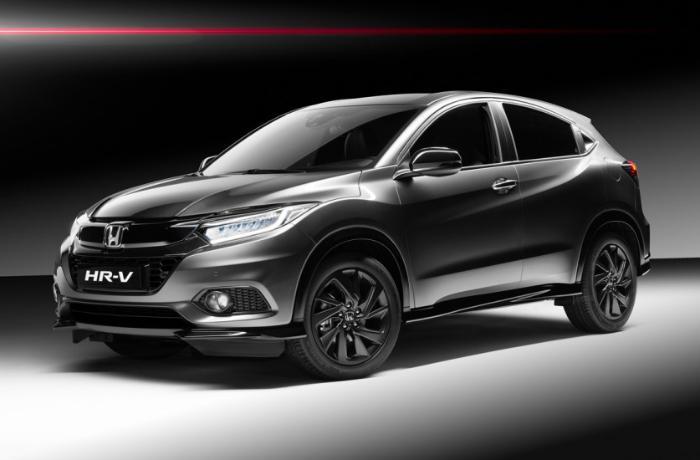 Презентован кроссовер Honda HR-V нового поколения