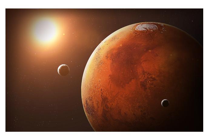 Marsın yeni görüntüləri yayılıb
