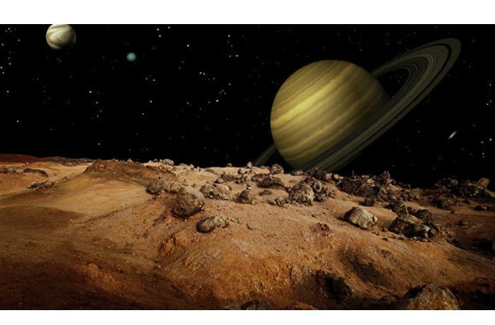 На спутнике Сатурна нашли ученые ракетное топливо гидразин