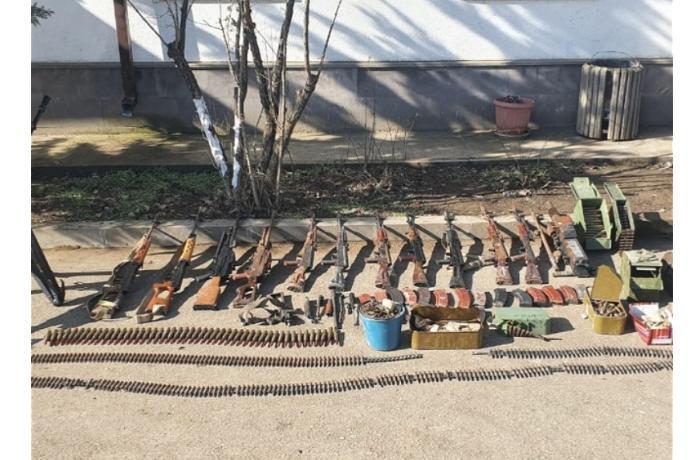В Ходжавенде обнаружили оставленные армянской армией боеприпасы