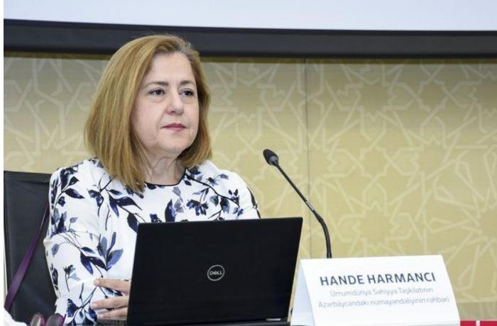 """""""В настоящее время ситуация с COVID-19 в Азербайджане очень хорошая"""" - Ханде Харманджи"""