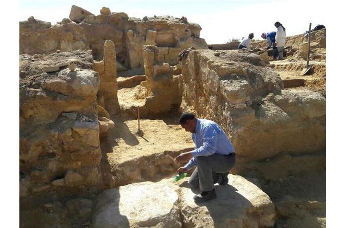 Древний монастырь V века обнаружен в Египте