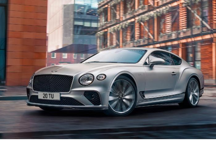 Bentley представила скоростной автомобиль