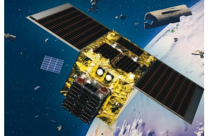 Японцами разработан спутник-магнит собирающий орбитальный мусор