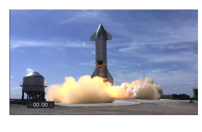 В Техасе взорвался прототип корабля SpaceX