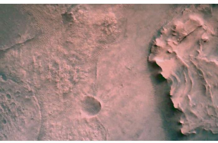 Новые снимки Марса - ВИДЕО