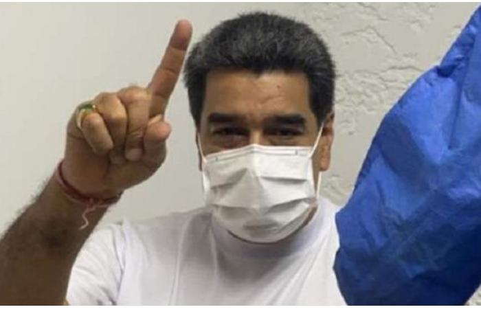 """Мадуро привился вакциной """"Спутник V"""" и сказал: """"Спасибо!"""" - ВИДЕО"""