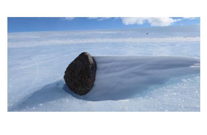 Найден метеорит 400 летней давности