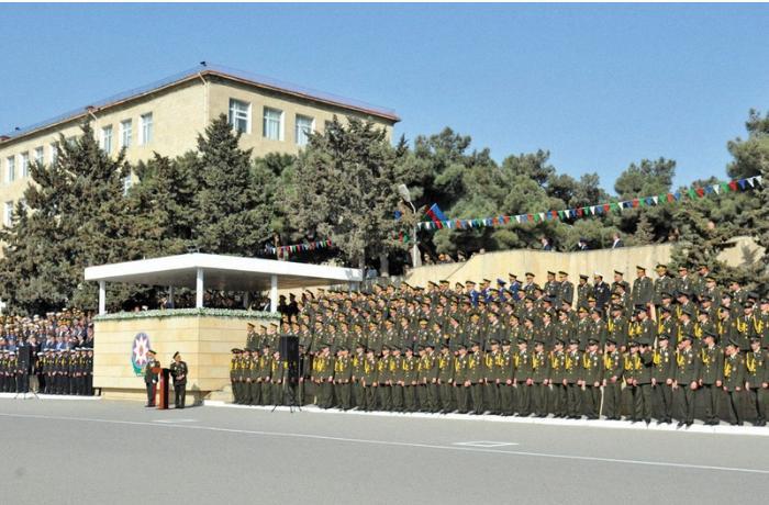 В Азербайджане проведут 50-летний юбилей военного лицея имени Джамшида Нахчыванского