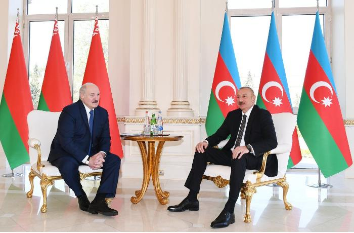 У Беларуси и Азербайджана сложились блестящие отношения - Александр Лукашенко