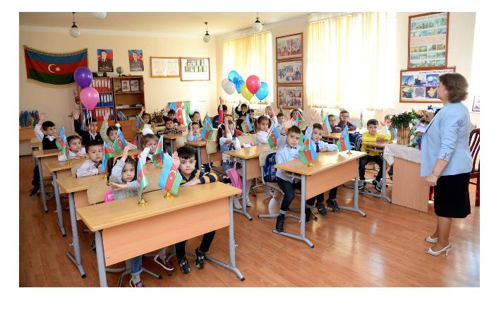 Завтра в Азербайджане начинается прием детей в первый класс