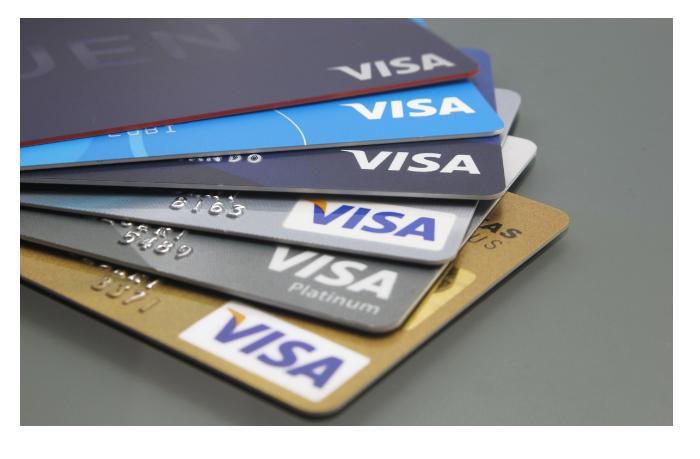 Чистая прибыль американской Visa Inc уменьшилась на 2%