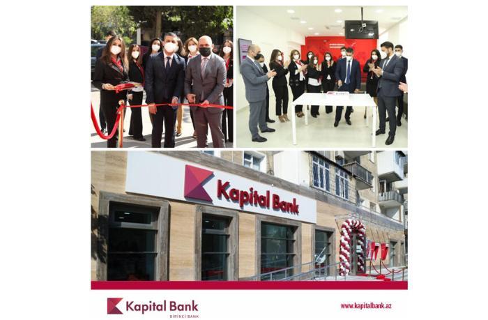 Kapital Bank представил обновленный филиал «Нариманов»