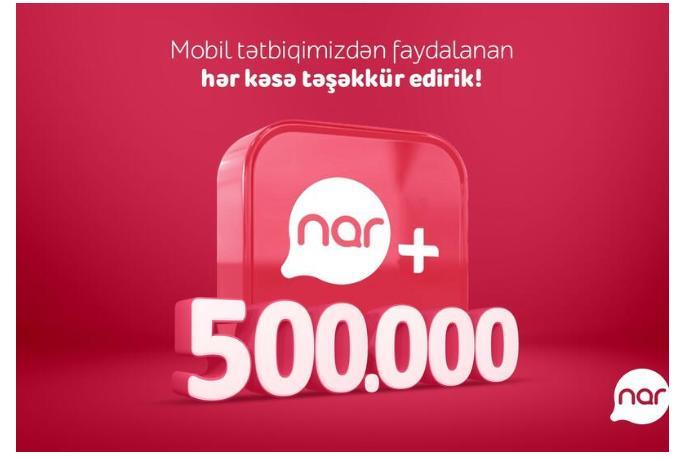 Число загрузок приложения «Nar+» превысило полмиллиона
