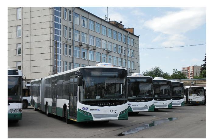 Автобусный парк в Санкт- Петербурге перейдет на СПГ уже к концу текущего года