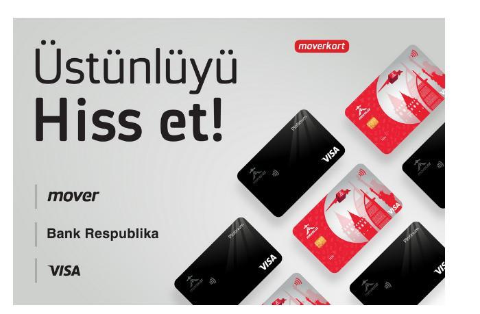 """Mover при поддержке Банка Республика представил новые выгодные карты """"VISA Moverkart"""""""