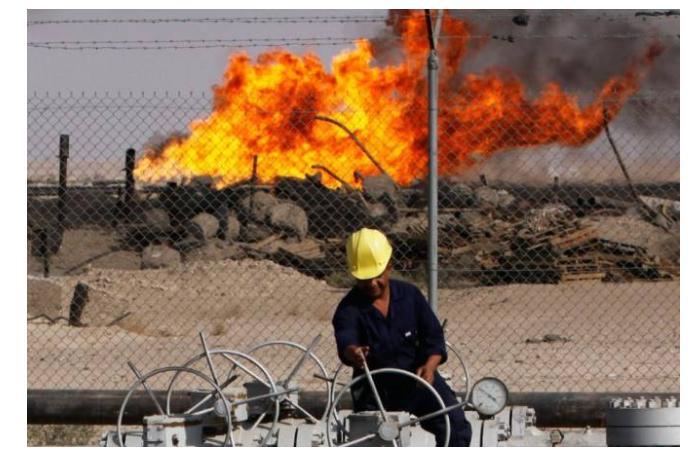 Нефтяные месторождения на севере Ирака подверглись атаке