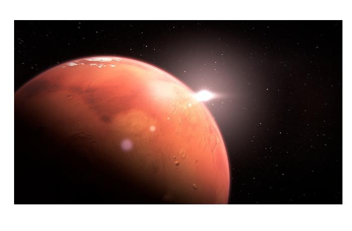 Обнаружены потенциальные следы недавних извержений вулканов на Марсе