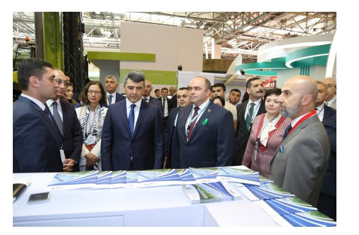 В Азербайджане продолжается 14-я выставка Caspian Agro