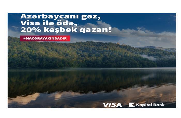 """""""Kapital Bank"""" yeni kampaniyaya start verib"""