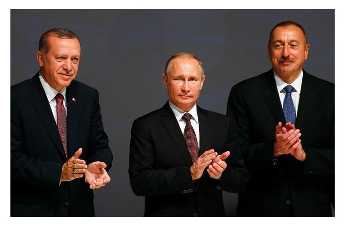 Путин, Эрдоган, Алиев - пророки Евразии
