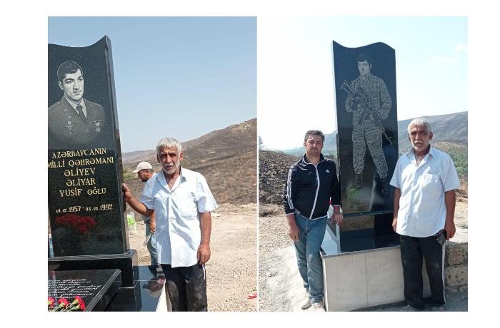 Могила национального героя Алияра Алиева восстановлена