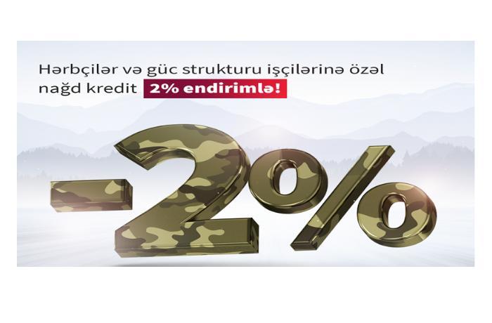 """""""Kapital Bank"""" hərbçilər üçün güzəştli kredit kampaniyası keçirir"""