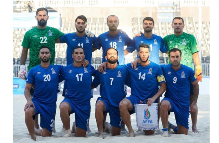 Сборная Азербайджана по пляжному футболу обыграла Францию на старте ЧМ
