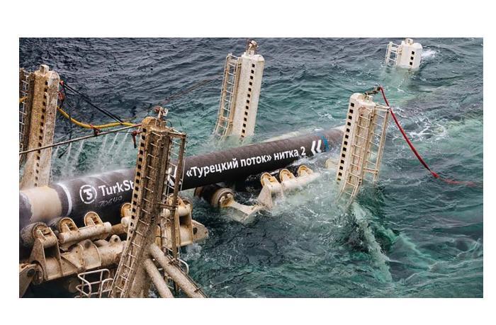 Останавливается прокачка газа по «Турецкому потоку»