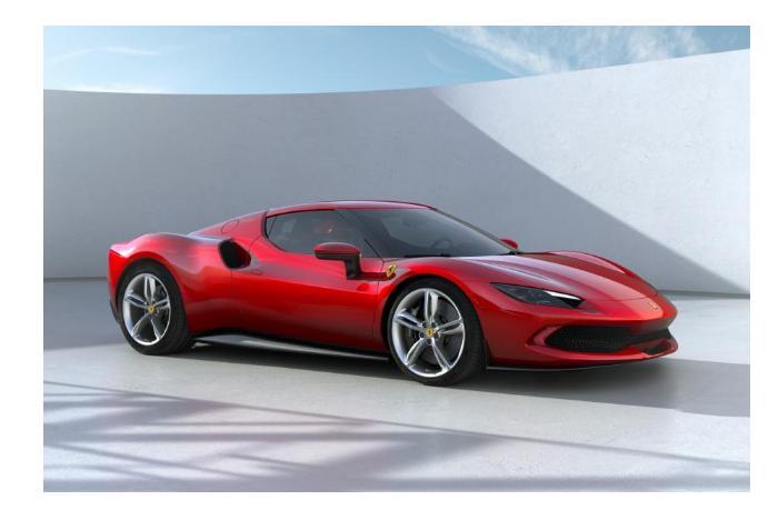 Ferrari представила первый дорожный суперкар с двигателем V6 Гибрид 296 GTB - ВИДЕО