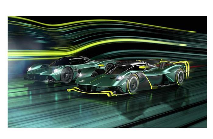 Новый мощный гиперкар представил Aston Martin