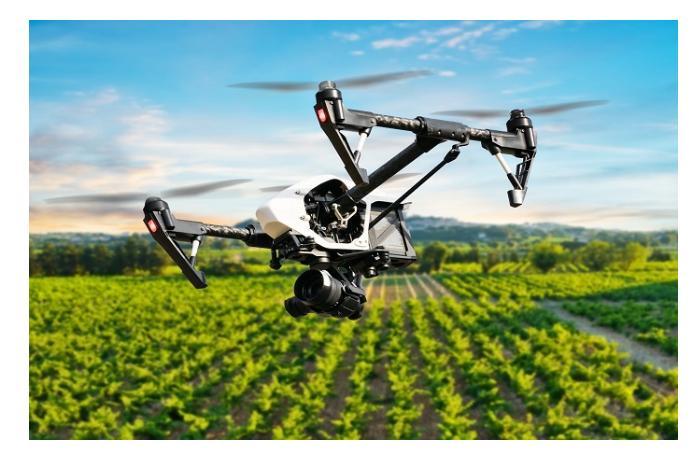 Впервые в Азербайджане были применены агро-дроны для посева семян