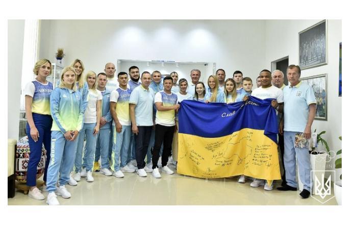 Украина представила новую форму олимпийской сборной