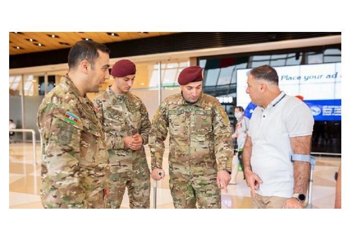 Очередные тяжелораненые ветераны отправлены на лечение в Турцию
