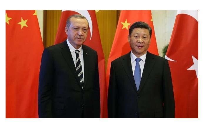 Развитие основных экономических направлений обсудил Тайип Эрдоган с Си Цзиньпинем