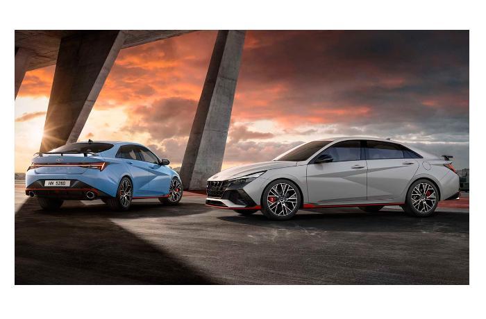 Hyundai презентовала спортивную версию седана Elantra - ВИДЕО