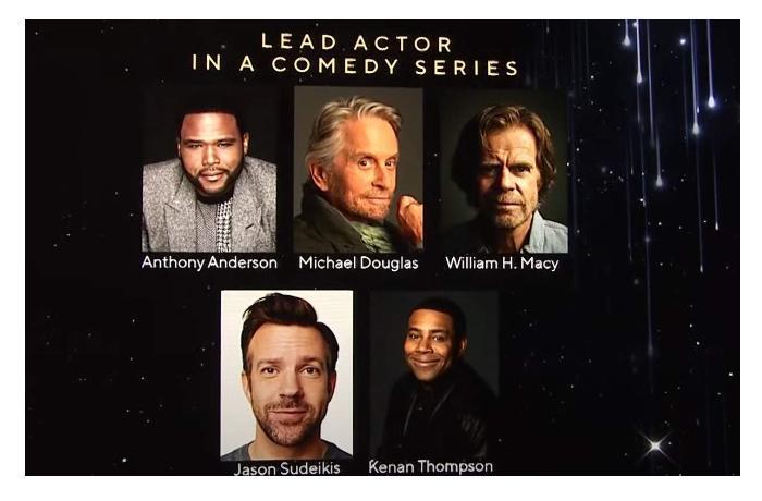В Лос-Анджелесе объявили номинантов «Эмми-2021»