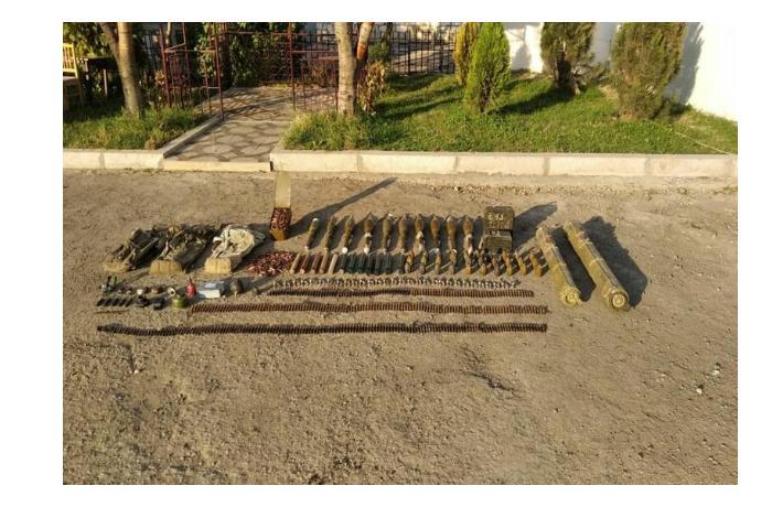 В Шуше обнаружили невзорвавшиеся боеприпасы