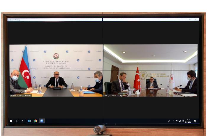 Азербайджан и Турция обсудили вопросы энергетики