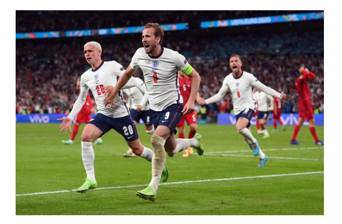 Англия сыграет с Италией в финале Евро-2020
