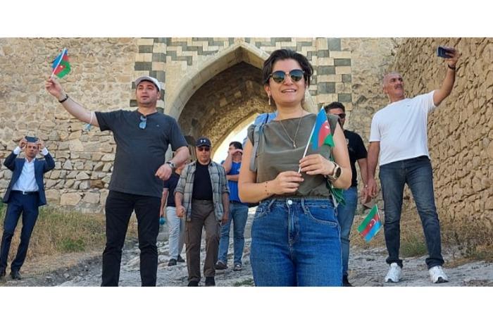 Импульс диаспорской деятельности Наши соотечественники посетили жемчужину Азербайджана – город Шуша